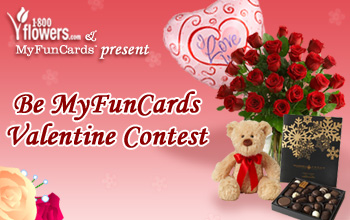 Be MyFunCards Valentine Contest