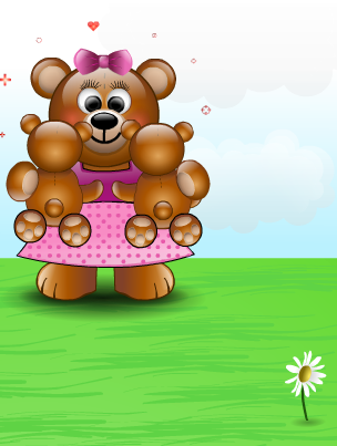 Mom's Day Bear