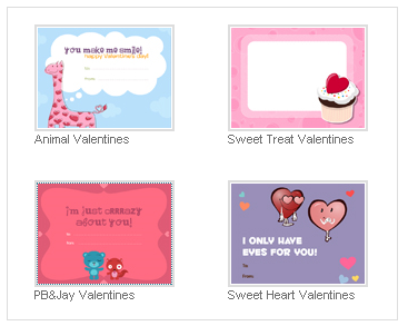 Printable Valentines