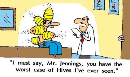 Case of Hives