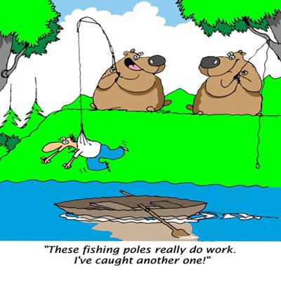 Myfuncards Fishing For Human Send Free Everyday Ecards Jpg 400x400 Funny Happy Birthday Crazy