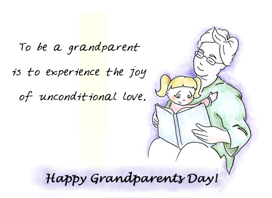 Grandparents Day Love. Grandparents Day Love