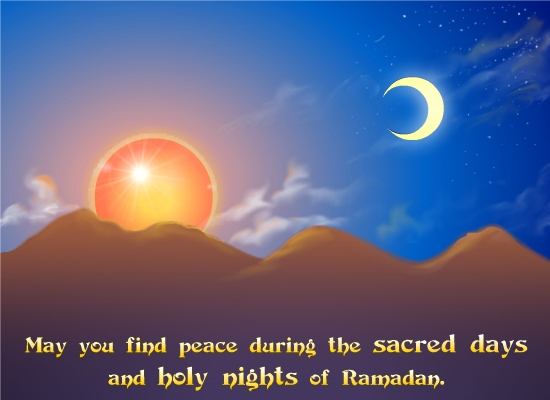 Sacred Days Of Ramadan