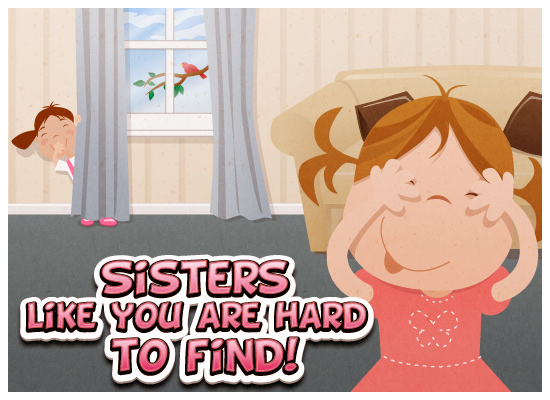 Cards For Sister. card to your sister to let
