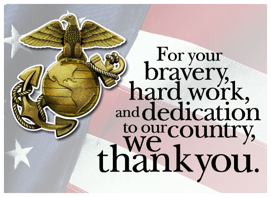 Thank You Marines