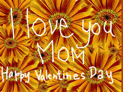 tell mom you love her with this sweet flowering valentines day online