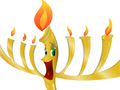 Funny Menorah