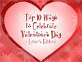 Top 10 List - Lovers