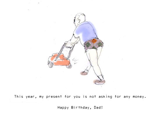 birthday cards for dad funny