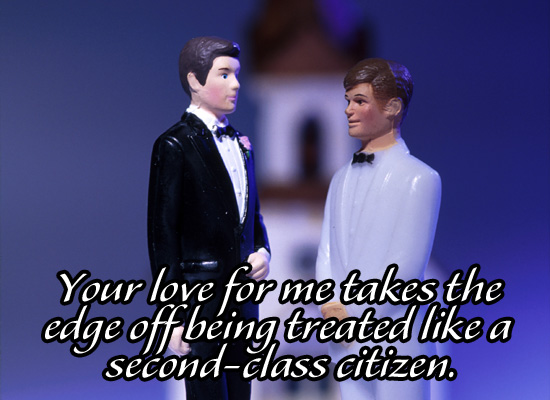 Second-Class Marriage