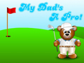 Golfer Bear