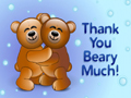 Beary Thanks