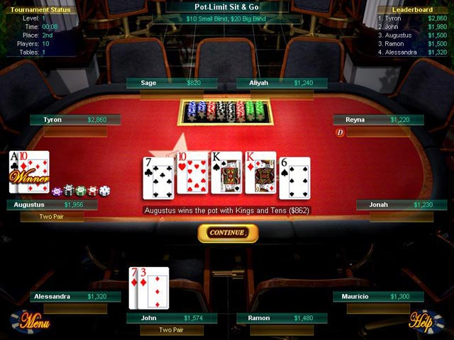 Texas holdem western game